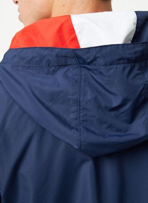 Vêtements Tommy Jeans TJM LIGHT WEIGHT POPOVER Bleu vue face