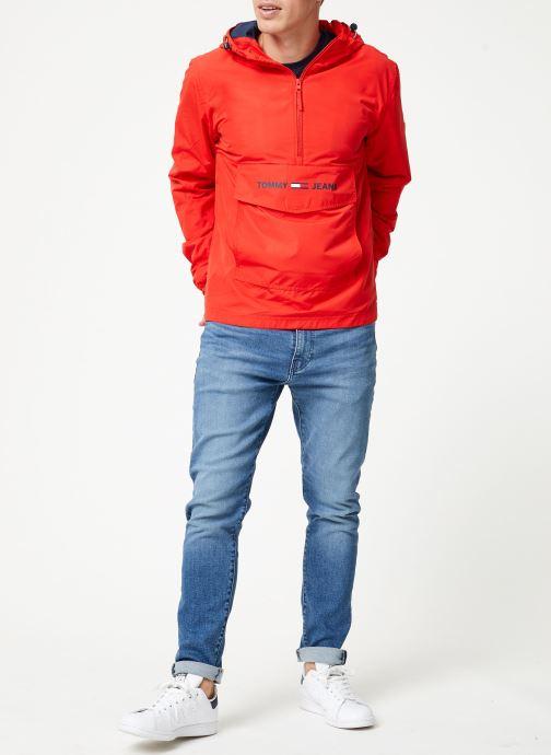 Tøj Tommy Jeans TJM LIGHT WEIGHT POPOVER Rød se forneden