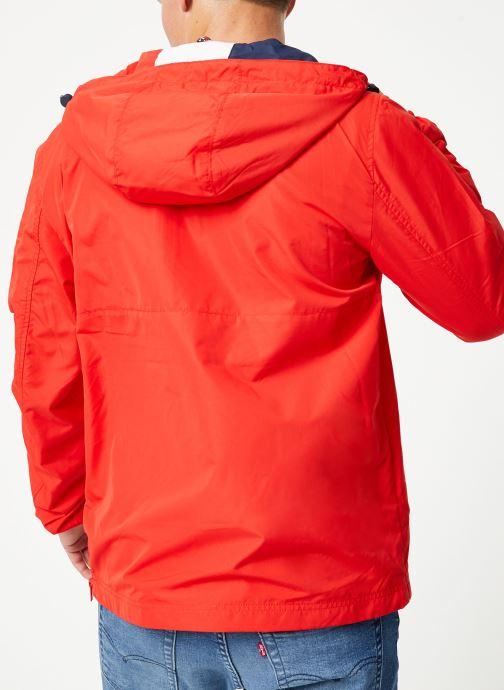 Tøj Tommy Jeans TJM LIGHT WEIGHT POPOVER Rød se skoene på