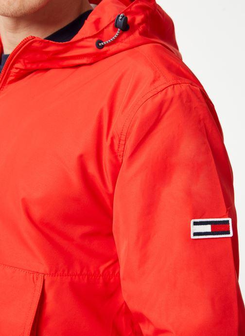 Tøj Tommy Jeans TJM LIGHT WEIGHT POPOVER Rød se forfra