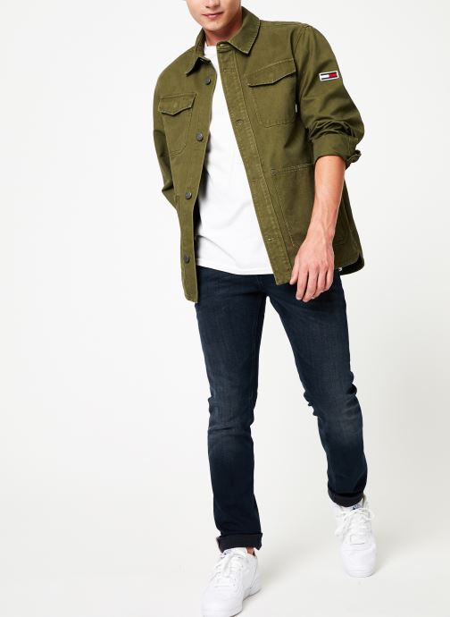 Tøj Tommy Jeans TJM CARGO JACKET Grøn se forneden