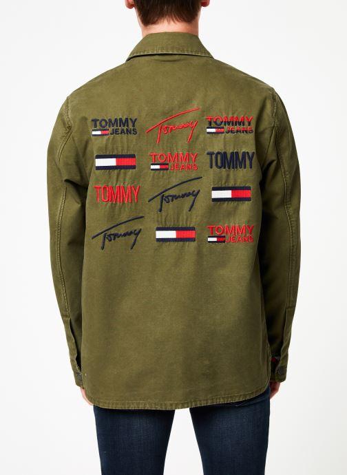 Kleding Tommy Jeans TJM CARGO JACKET Groen model