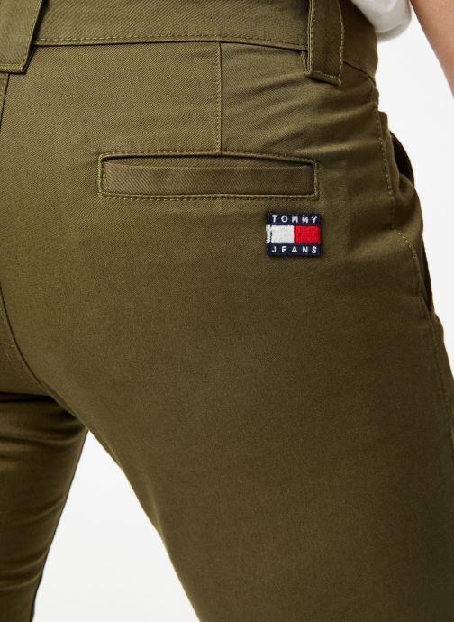 Vêtements Tommy Jeans TJM SCANTON CHINO PANT Vert vue face