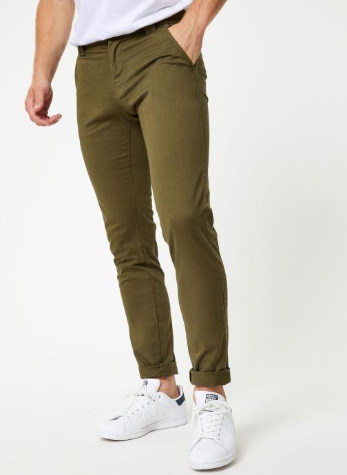 Vêtements Tommy Jeans TJM SCANTON CHINO PANT Vert vue détail/paire