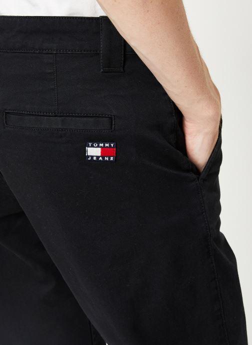 Vêtements Tommy Jeans TJM SCANTON CHINO PANT Noir vue face