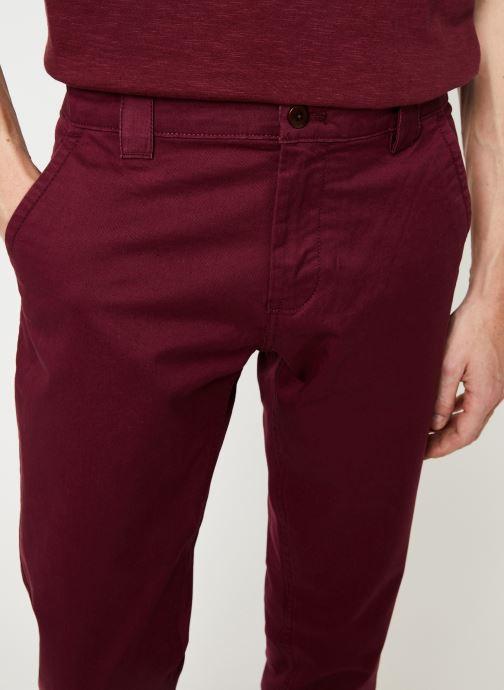Vêtements Tommy Jeans TJM SCANTON CHINO PANT Bordeaux vue face