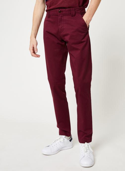 Vêtements Tommy Jeans TJM SCANTON CHINO PANT Bordeaux vue détail/paire