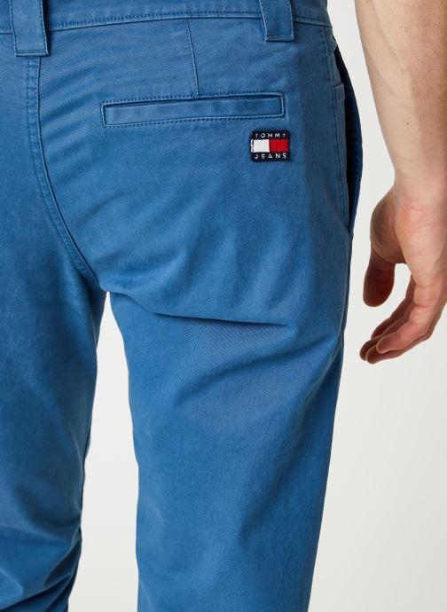 Vêtements Tommy Jeans TJM SCANTON CHINO PANT Bleu vue face