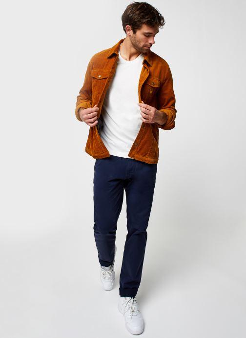 Vêtements Tommy Jeans TJM SCANTON CHINO PANT Bleu vue bas / vue portée sac
