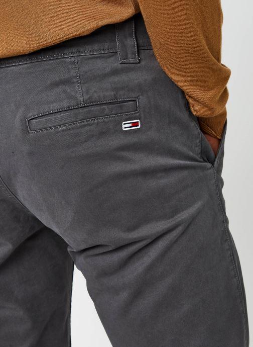 Vêtements Tommy Jeans TJM SCANTON CHINO PANT Gris vue face