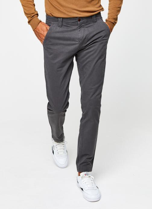 Vêtements Tommy Jeans TJM SCANTON CHINO PANT Gris vue détail/paire