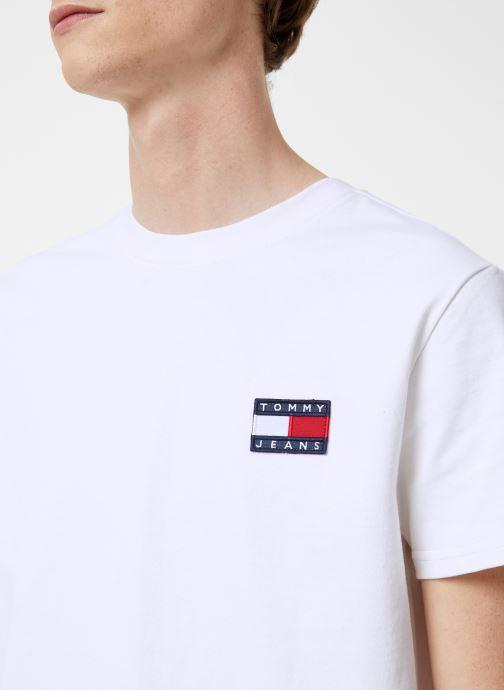 Vêtements Tommy Jeans TJM TOMMY JEANS BADGE TEE Blanc vue face