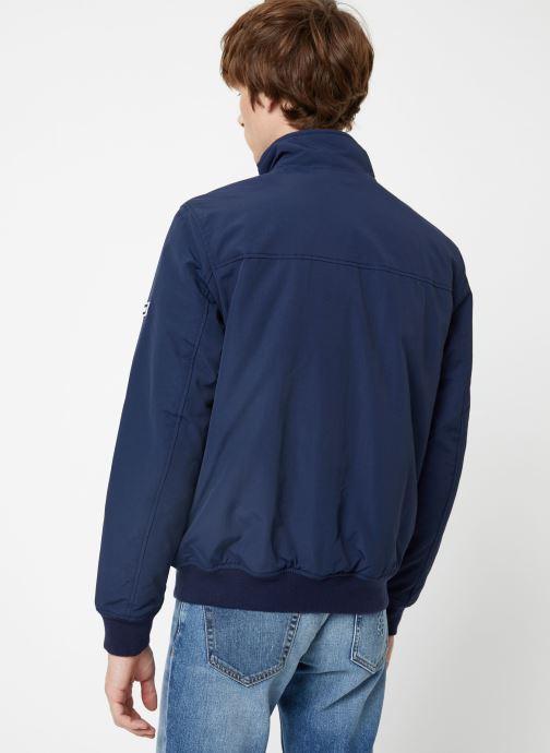 Vêtements Tommy Jeans TJM ESSENTIAL PADDED JACKET Bleu vue portées chaussures