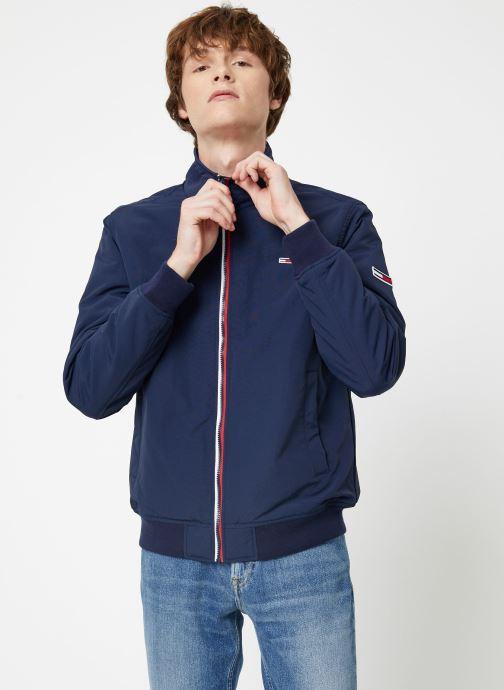 Vêtements Tommy Jeans TJM ESSENTIAL PADDED JACKET Bleu vue droite