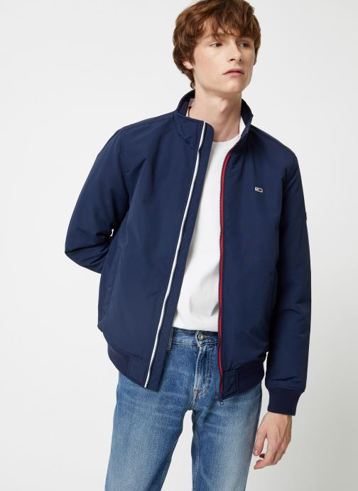 Vêtements Tommy Jeans TJM ESSENTIAL PADDED JACKET Bleu vue détail/paire