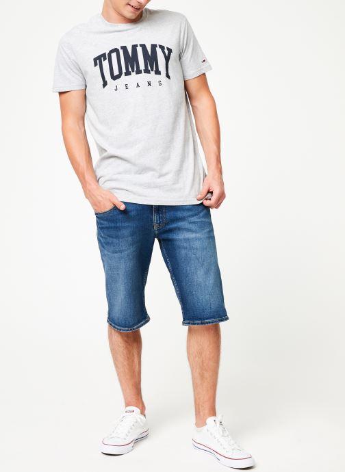 Vêtements Tommy Jeans RONNIE SHORT ATLMC Bleu vue bas / vue portée sac
