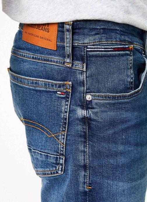 Vêtements Tommy Jeans RONNIE SHORT ATLMC Bleu vue face