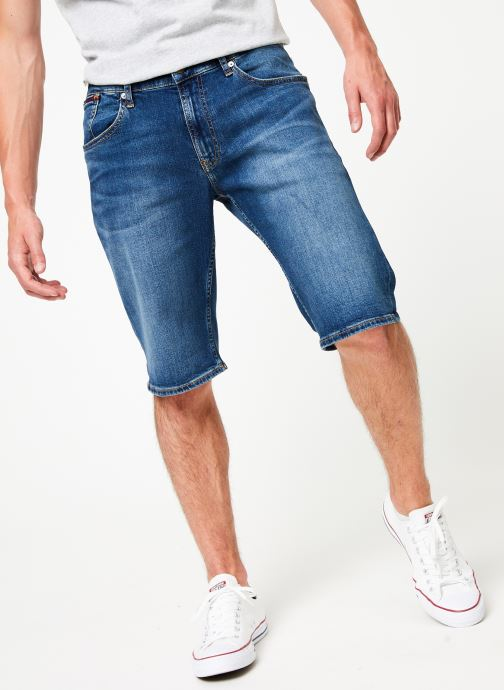 Vêtements Tommy Jeans RONNIE SHORT ATLMC Bleu vue détail/paire