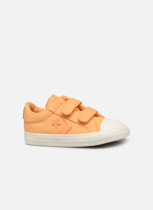 Baskets Converse Star Player 2V Ox Washed Out Jaune vue derrière