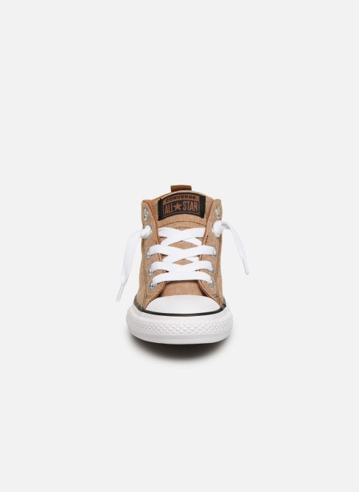 Trainers Converse Chuck Taylor All Star Street Mid Street Urchin Brown model view