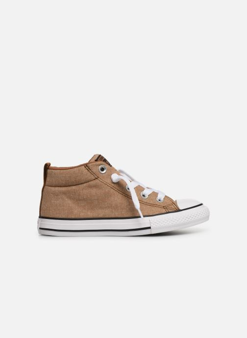 Trainers Converse Chuck Taylor All Star Street Mid Street Urchin Brown back view