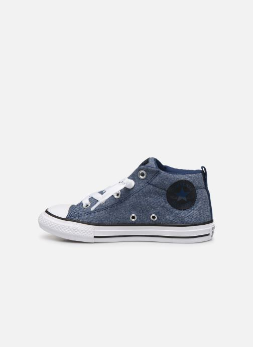 Sneakers Converse Chuck Taylor All Star Street Mid Street Urchin Blauw voorkant