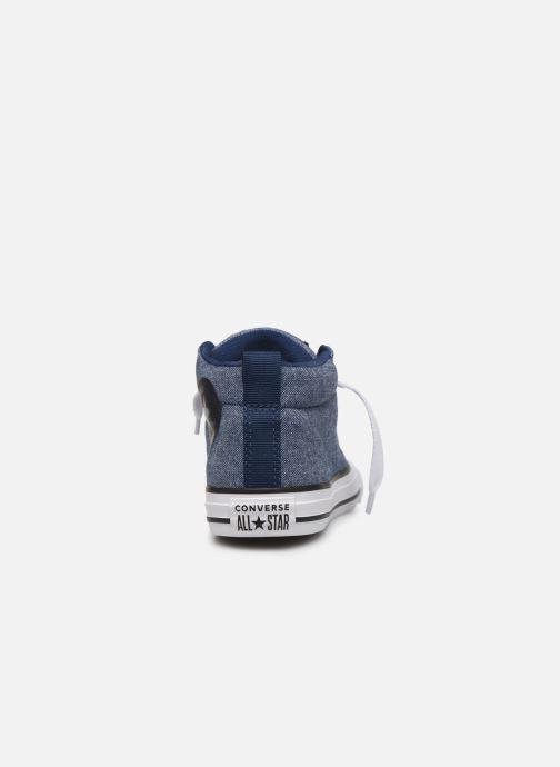 Sneakers Converse Chuck Taylor All Star Street Mid Street Urchin Blauw rechts