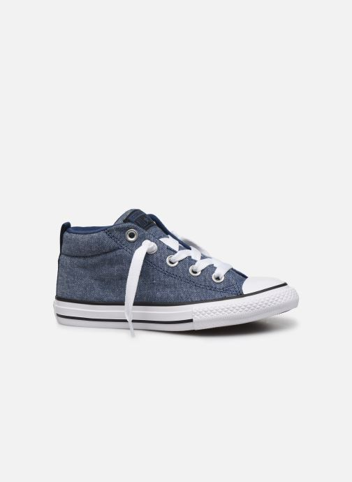 Trainers Converse Chuck Taylor All Star Street Mid Street Urchin Blue back view