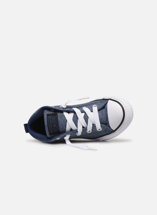 Trainers Converse Chuck Taylor All Star Street Mid Street Urchin Blue view from the left
