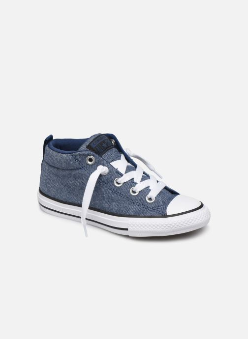 Trainers Converse Chuck Taylor All Star Street Mid Street Urchin Blue detailed view/ Pair view