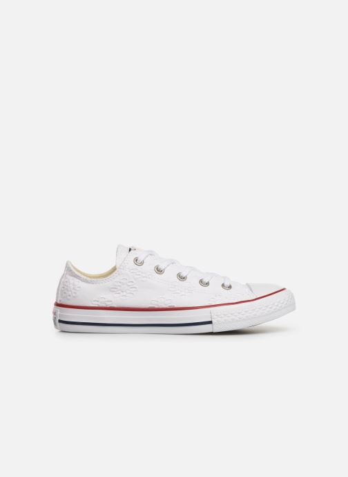 Baskets Converse Chuck Taylor All Star Ox Broaderie Anglias Blanc vue derrière