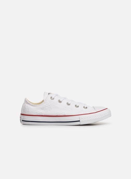 Sneakers Converse Chuck Taylor All Star Ox Broaderie Anglias Hvid se bagfra