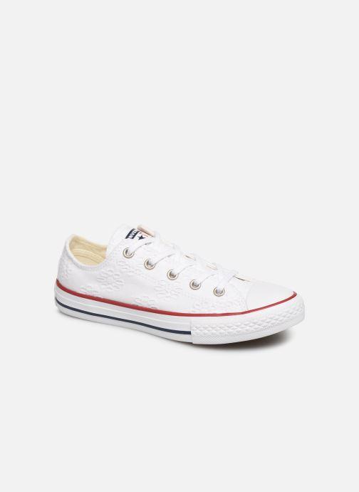 Sneakers Converse Chuck Taylor All Star Ox Broaderie Anglias Hvid detaljeret billede af skoene
