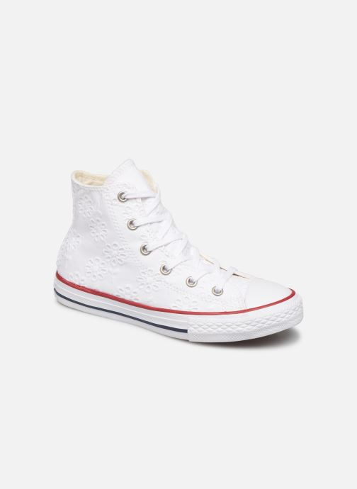 Sneakers Converse Chuck Taylor All Star Hi Broaderie Anglais Wit detail