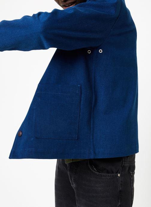 Vêtements Commune de Paris TEDDY GERMAIN Bleu vue face