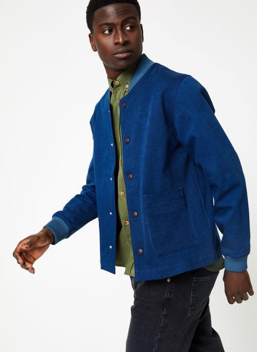Vêtements Commune de Paris TEDDY GERMAIN Bleu vue droite