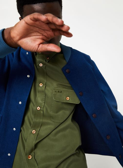 Vêtements Commune de Paris TEDDY GERMAIN Bleu vue détail/paire