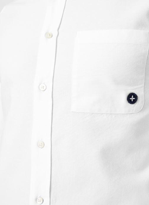 Vêtements Commune de Paris CHEMISE EUDES-B Blanc vue face