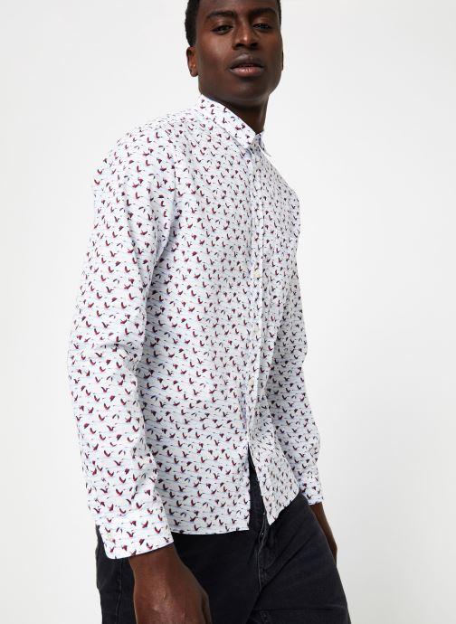 Vêtements Commune de Paris CHEMISE ROSSEL Blanc vue droite