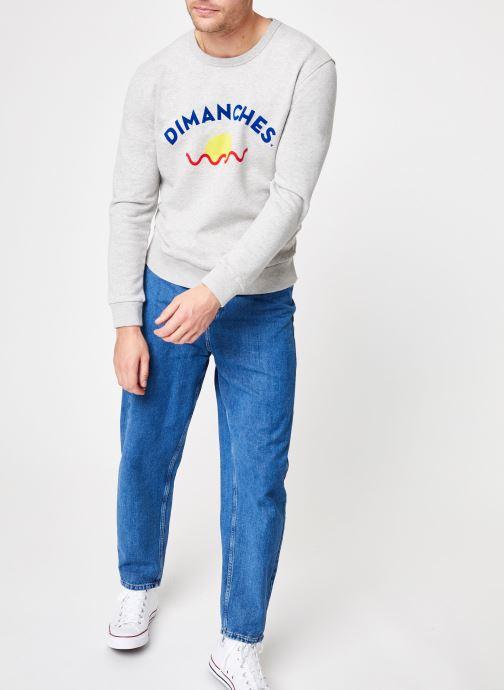 Grey Marl Dimanches Sun Commune Sweat VêtementsSweats De Paris n08wmN
