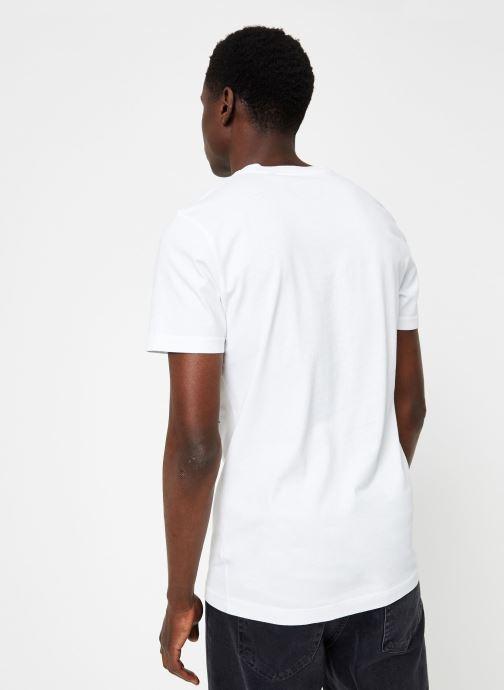 Vêtements Commune de Paris TEE SHIRT COQ Blanc vue portées chaussures