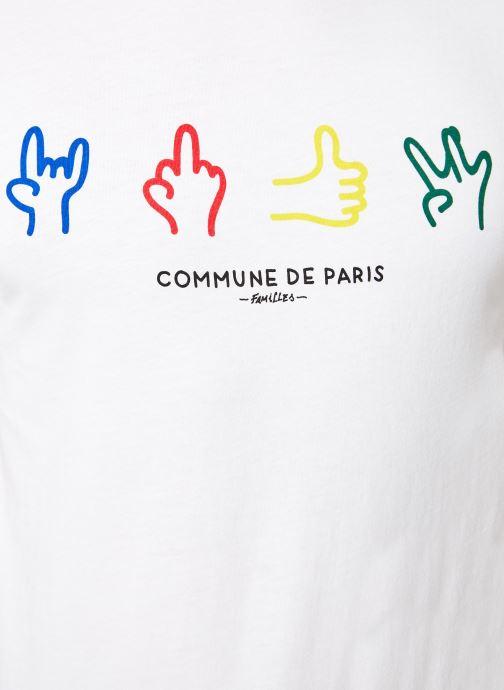 Tøj Commune de Paris TEE SHIRT CODE Hvid se forfra