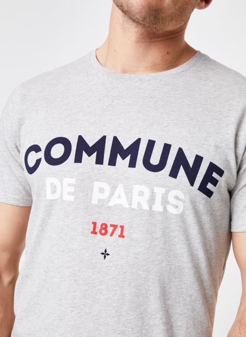 Tøj Commune de Paris TEE SHIRT ICI Grå se forfra
