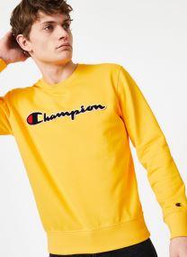 Champion Large Script Logo Crewneck Sweatshirt