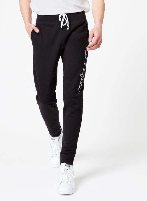 Vêtements Champion Champion Vertical Script Logo Rib Cuff Pants Noir vue détail/paire