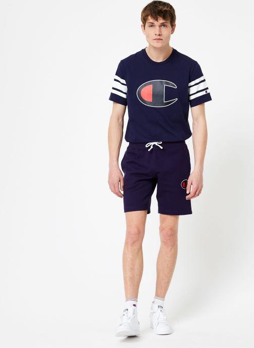 Vêtements Champion Champion C-Logo Bermuda Bleu vue bas / vue portée sac