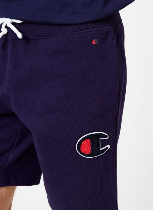 Tøj Champion Champion C-Logo Bermuda Blå se forfra