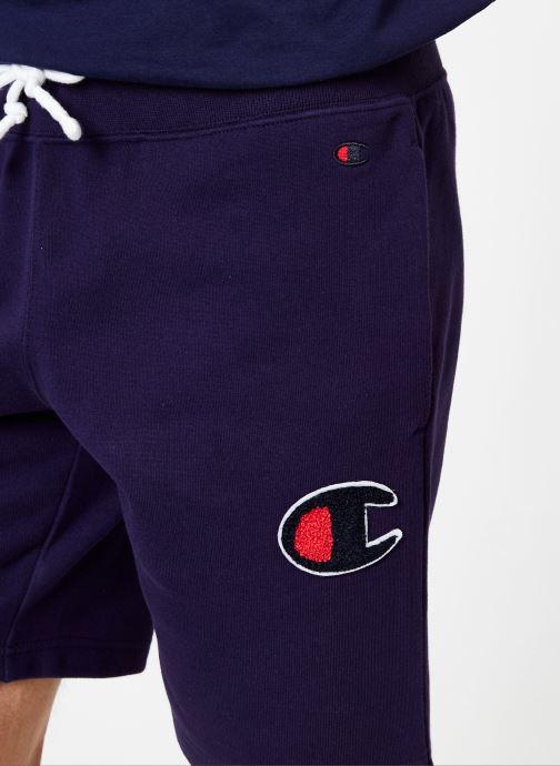 Vêtements Champion Champion C-Logo Bermuda Bleu vue face