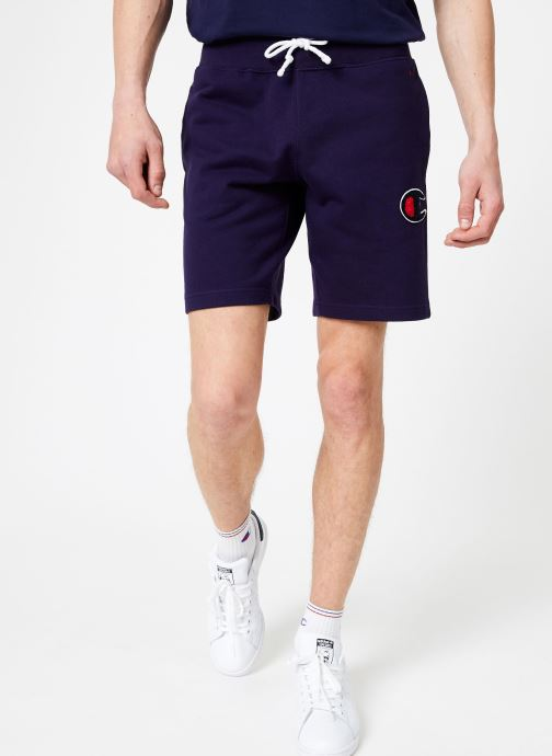 Vêtements Champion Champion C-Logo Bermuda Bleu vue détail/paire
