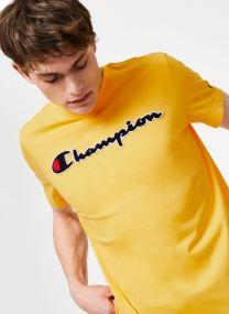 Kläder Tillbehör Champion Large Script Logo Crewneck T-Shirt